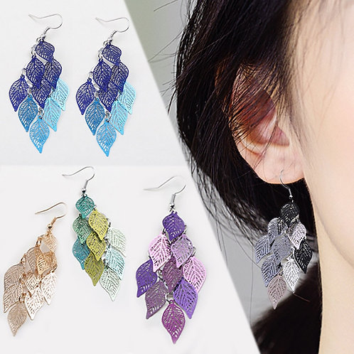 1Pair Hot Sale Tassel Party Long Valentines Gift Gifts Bohemian 7 Colors Colours