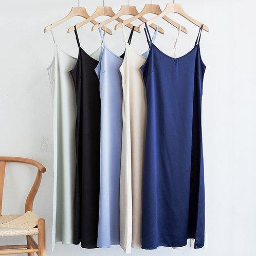 Fashion High Quality Women's Dress  Woman Dress Very Soft Smooth Plus Size S-4xl