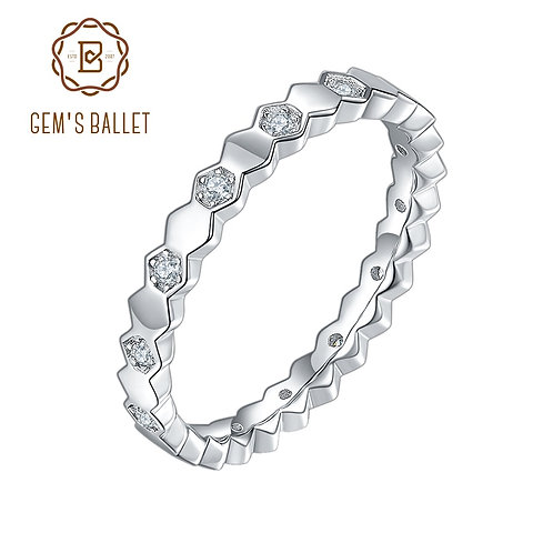 925 Sterling Silver Wedding Bands for Women D Lab Diamond Paved Wedding Rings