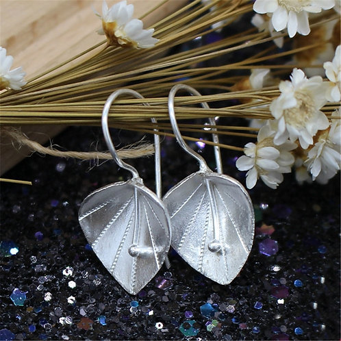 Brand Drop Earrings Women Thai Handmade Crafts Long Earrings Art Fresh Flowers