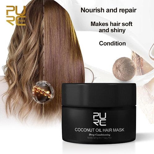 Coconut Oil Hair MaskRepairs Damage Restore Soft Good of All Hair Types