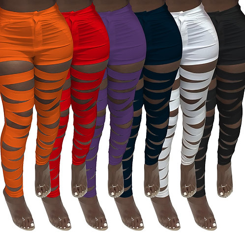 Pants High Waist Solid Color Sweatpants Summer Clothes for Women Outfit