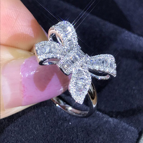 Rings White Rings for Women Wedding Engagement 2021 New Fashion Jewelry Gift