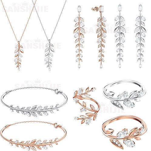 Jewelry Jewelry Set, Women's Earrings, Necklaces and Bracelets, Fashion Jewelry