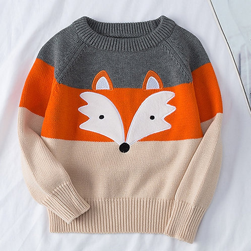 Sweaters Coat Kids Knitting Pullovers Long Sleeve Sweaters