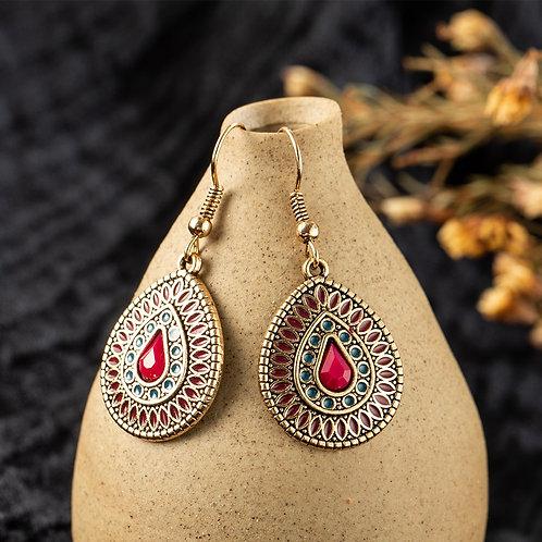 Water Drop Dangle Classic Wedding Bridal Earrings Jewelry Accessories Gift
