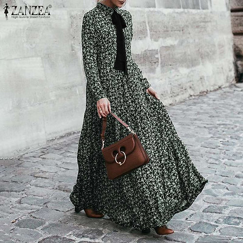 Bohemian Ruffle Dress