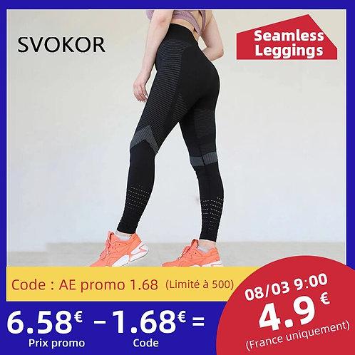 Fitness Leggings Women Sexy Seamles Workout Pants Push Up Slim Elasticity