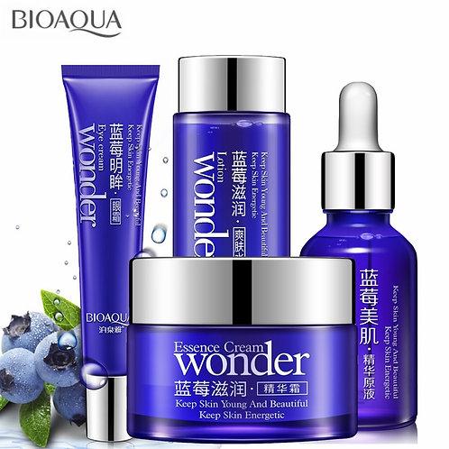 4pcs/Lot Skin Care Face Cream+Essence Liquid+Toner+Eye Cream Facial Care Set