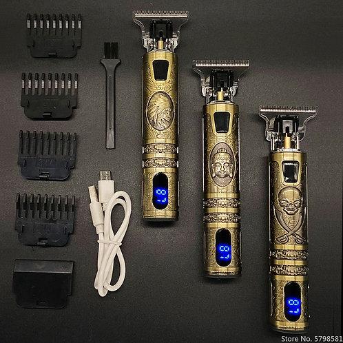 LCD Beard Hair Trimmer Hair Clipper Cordless Machine