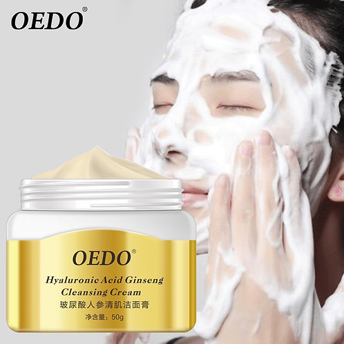 Acid Ginseng Extract Face Cleanser Facial Scrub Remover Pimples Pores Skin Care