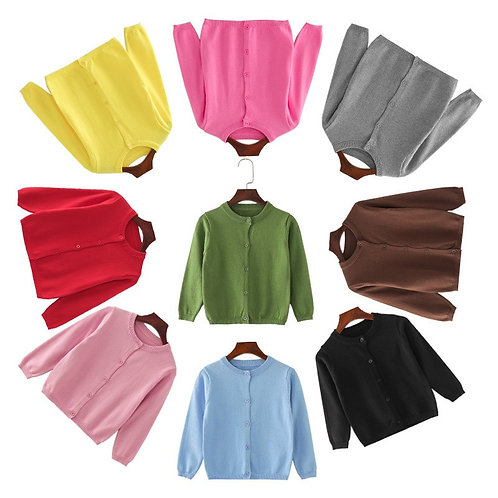 Sweaters Knitted Cardigan Sweater Clothing Boys Sweaters Wear Clothes Winter