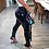 Thumbnail: PU Leather Pants Zipper Split BottomTights Pencil Pants Women Trousers