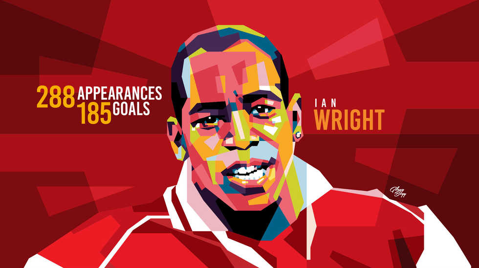 Ian Wright by Gilang Bogy