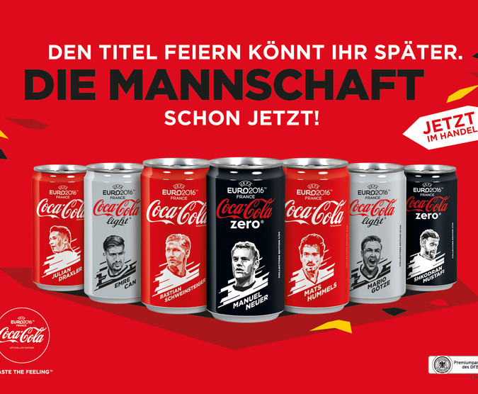 Limited Edition Coca Cola Germany