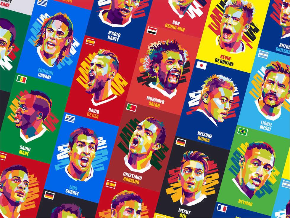 Iconic World Cup 2018 WPAP artwork.jpg