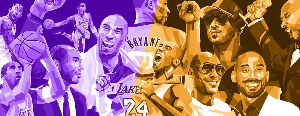 Kobe Bryant - Book Project_behance-heade