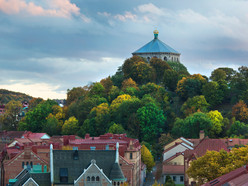 lovely autumn colors in gothenburg