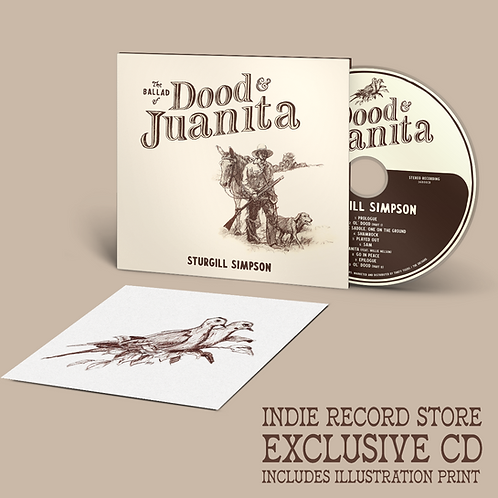 Sturgill Simpson - The Ballad Of Dood And Juanita [CD - Indie Exclusive]
