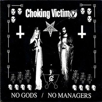 Choking Victim - No Gods/No Managers [LP]