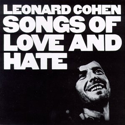 Leonard Cohen - Songs of Love and Hate [LP - 180G]