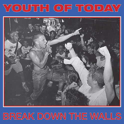 Youth Of Today - Break Down The Walls [LP - Gold Vinyl]