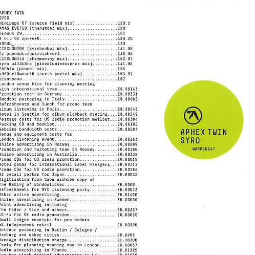 Aphex Twin - Syro [3xLP]