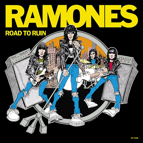 Ramones - Road To Ruin [LP - Blue Vinyl]
