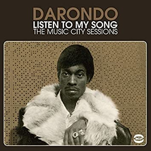Darondo - Listen to My Song: Music City Sessions [LP]
