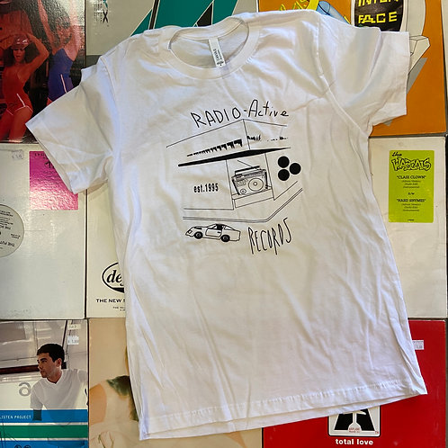 Radio-Active Store Front T-Shirt - White