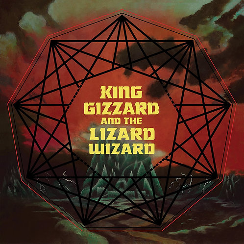 King Gizzard & the Lizard Wizard - Nonagon Infinity [LP - Green/Black Splatter]