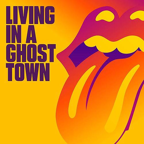 "Rolling Stones - Living In A Ghost Town [10"" Orange Vinyl]"