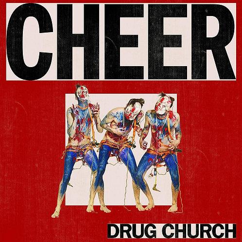 Drug Church - Cheer [LP - Clear w/ Red Splatter]