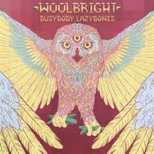 Woolbright - Busybody Lazybones [LP - Transparent Light Blue]
