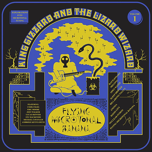 King Gizzard & the Lizard Wizard - Flying Microtonal Banana [LP - Blue/Gold]