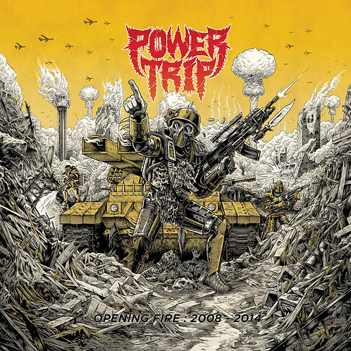 Power Trip - Opening Fire: 2008-2014 [LP - Coke Bottle Blue]