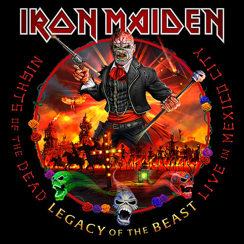 Iron Maiden - Night Of The Dead, Legacy Of The Beast: Live In Mexico City [3xLP]