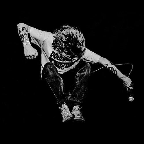 Restraining Order - The World Is Too Much [LP - White w/ Black Splatter]
