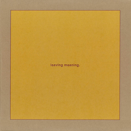 Swans - Leaving Meaning [LP]
