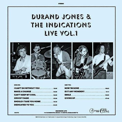 Durand Jones & The Indications - Live Vol. 1 [LP]
