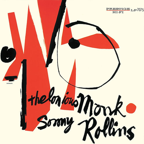Thelonious Monk/Sonny Rollins - Thelonious Monk and Sonny Rollins [LP - Blue]