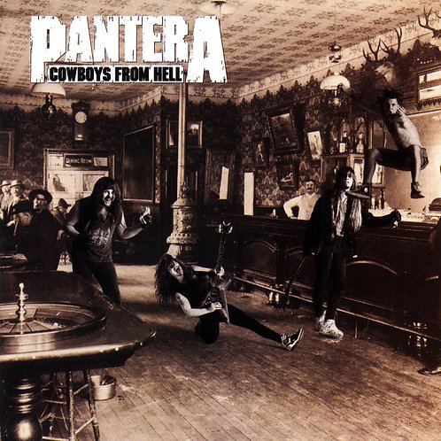 Pantera - Cowboys From Hell [LP - Brown Marble]