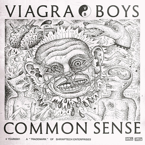 Viagra Boys - Common Sense [EP]