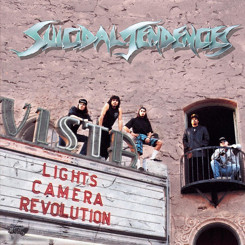 Suicidal Tendencies - Lights, Camera, Revolution [LP - Transparent Green]