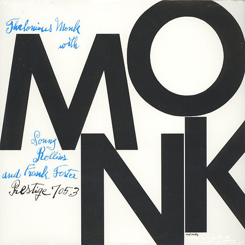 Thelonious Monk/Sonny Rollins/Frank Foster - Monk [LP]