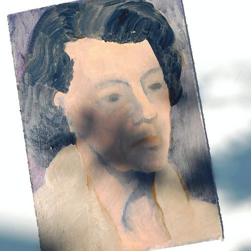 Belle Grandmère Original Painting