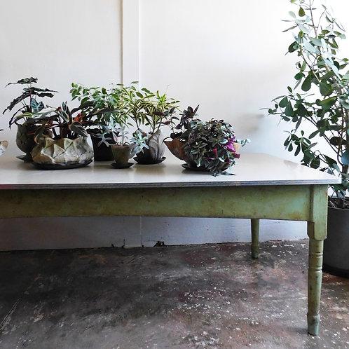 Aged Farmhouse Table