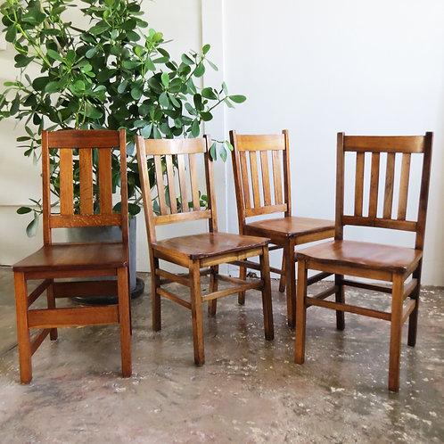 Manchester Oak Chair Set
