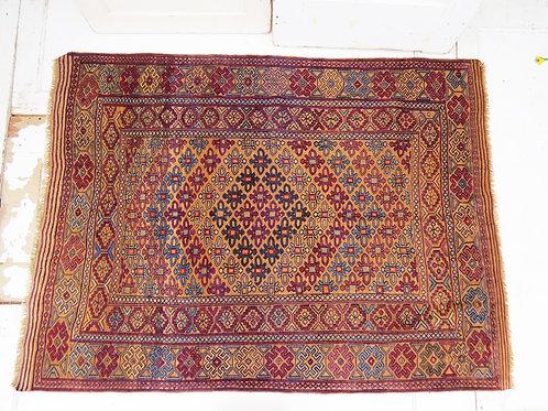 Afghan Kilim Rug  |  6.8' x 4.8'