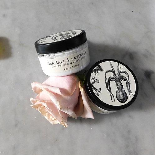 Sea Salt & Lavender Shea Butter HandCrème